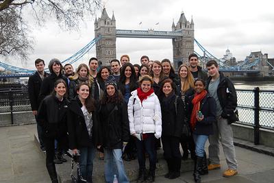 Activités stage Londres