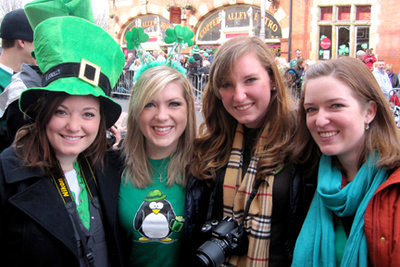 Destinations au pair Dublin