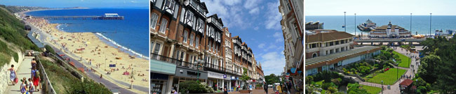 Destinations cours et job Bournemouth