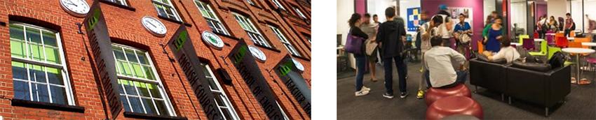 Ecole cours à Londres